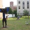 sculpture garden, East Village